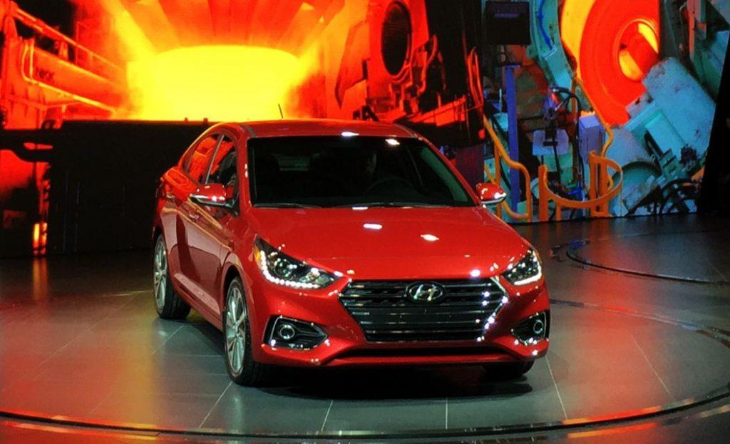 2018 Hyundai Accent specs and design