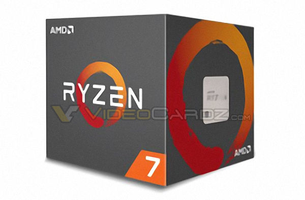 amd ryzen cpu packaging box