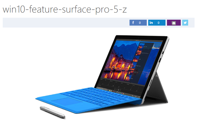 Surface Pro 5