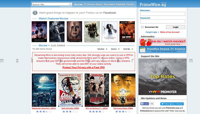 free movie sites to watch free movies online streaming