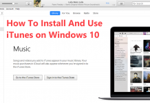 iTunes for Windows 10