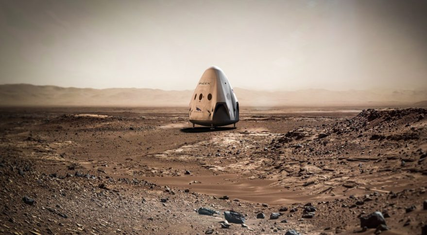 mars colonization plan