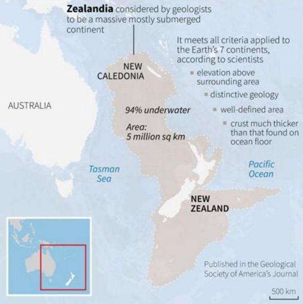 Zealandia map