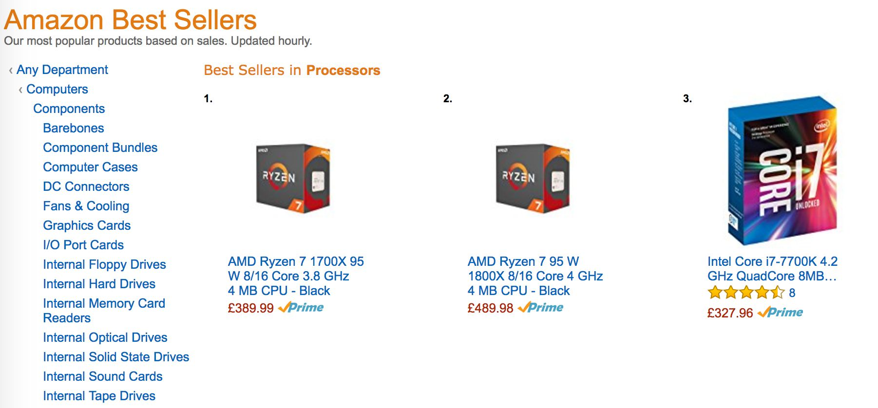 amd ryzen amazon