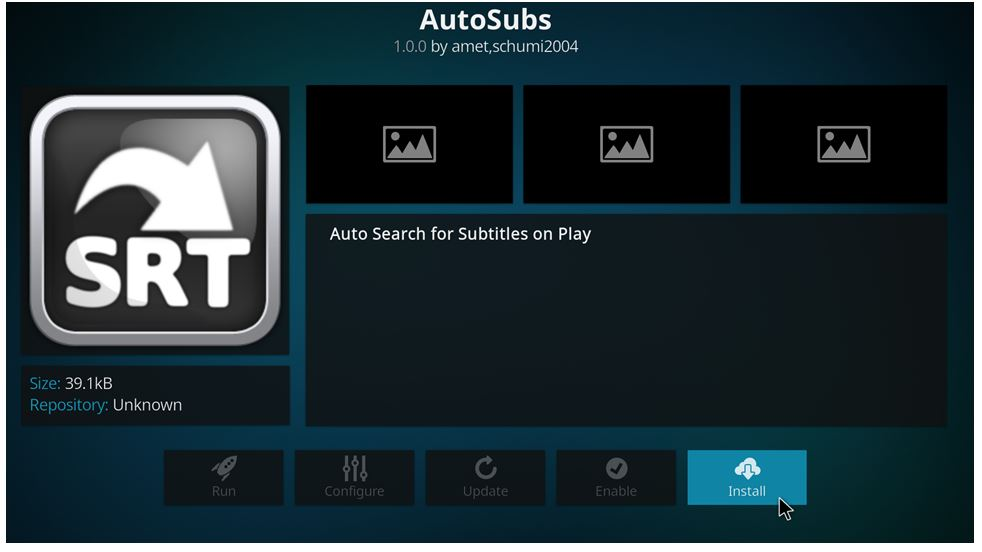how to enable subtitles on kodi 17 krypton