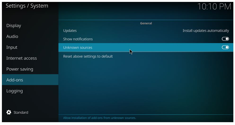 how to install Specto on Kodi 17