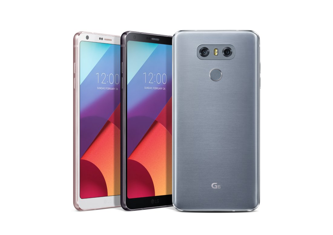 LG G6 at MWC 2017