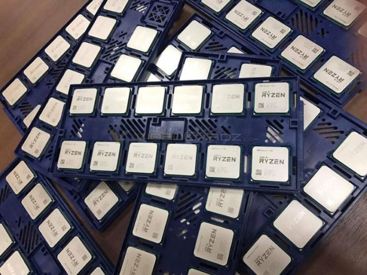 ryzen CPU first pictures