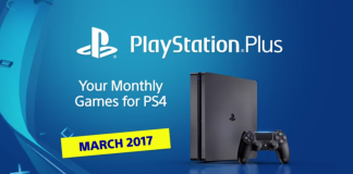 PlayStation Plus March 2017( courtesy- TechRaptor)