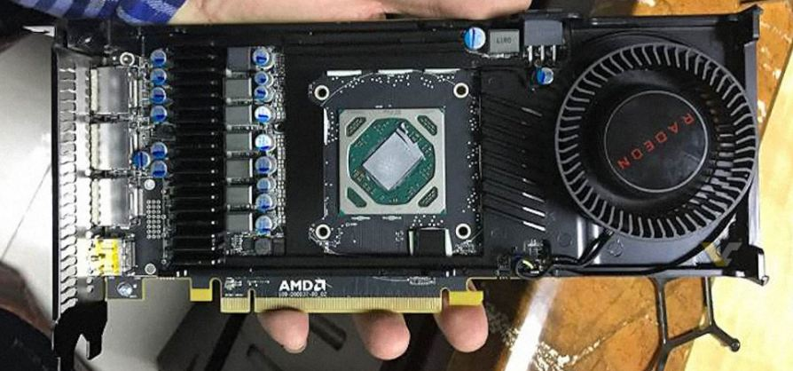 AMD Radeon RX 570 pictured