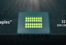 AMD Zen Naples specs