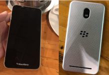 Leaked images of a BlackBerry KeyOne follow up device