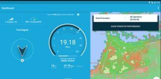 OpenSignal Meteor Internet Speed Test app