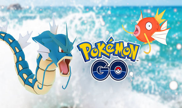 Pokemon Go Water Festival (credits Niantic)