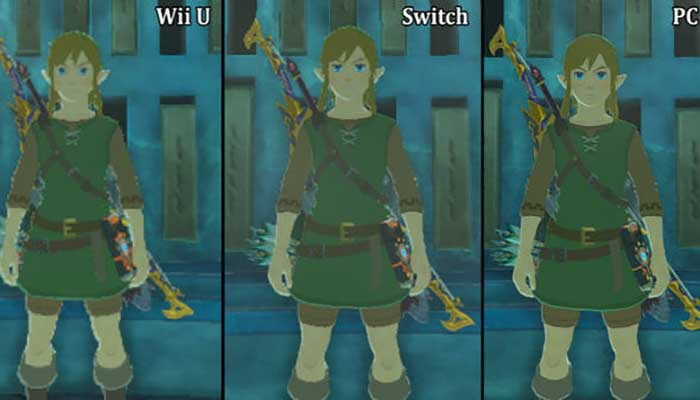 Zelda: Breath of the Wild Nintendo Switch and Wii U 4K Rival Has New