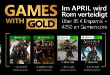 Xbox Games with Gold April lineup leaked