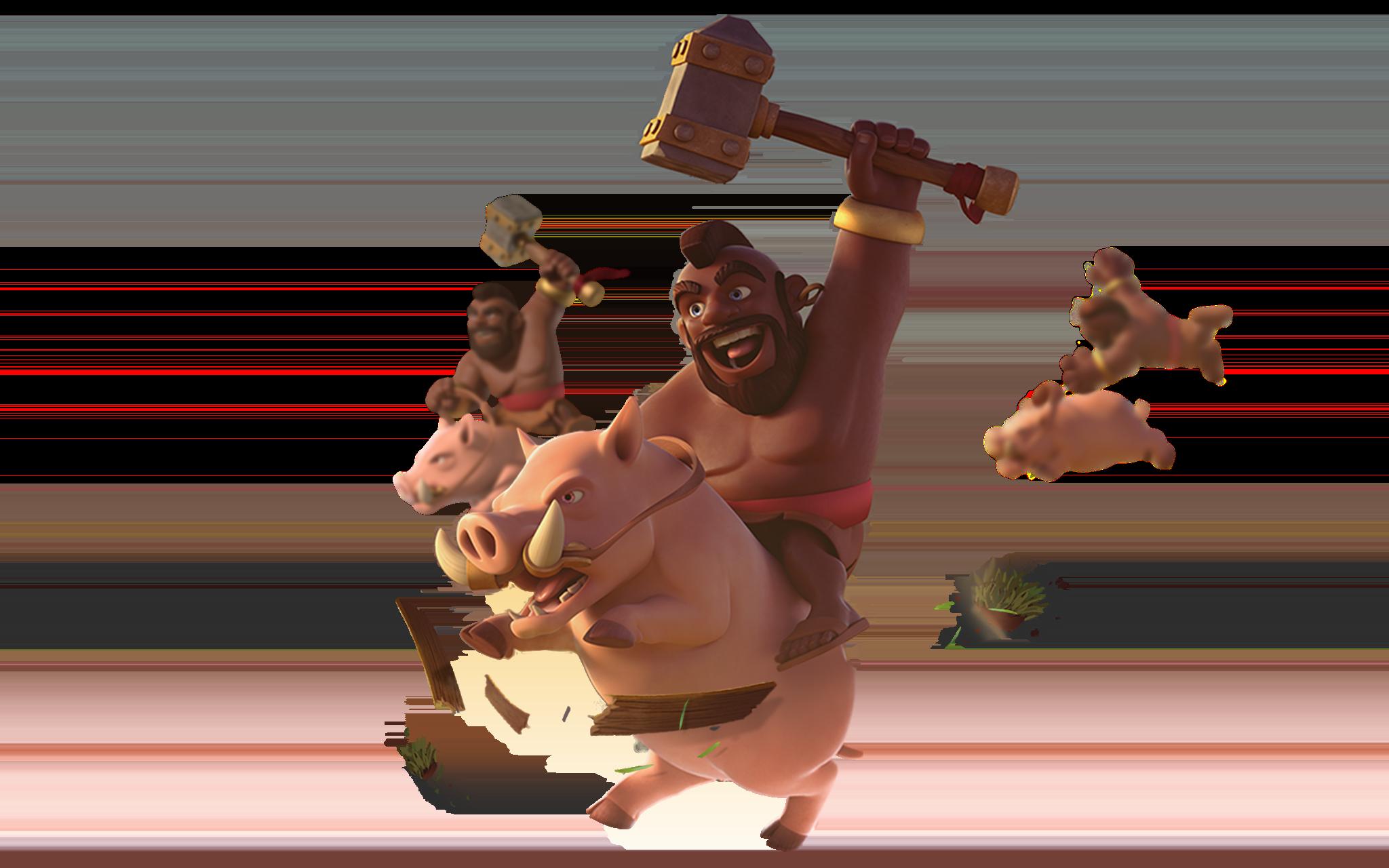 hog-rider-(credits COC)