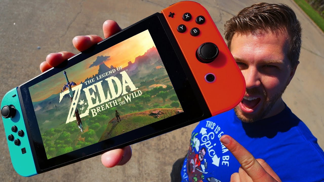 This Crazy Guy Dropped the Nintendo Switch 11 Times on the Ground Just to See How Tough it was
