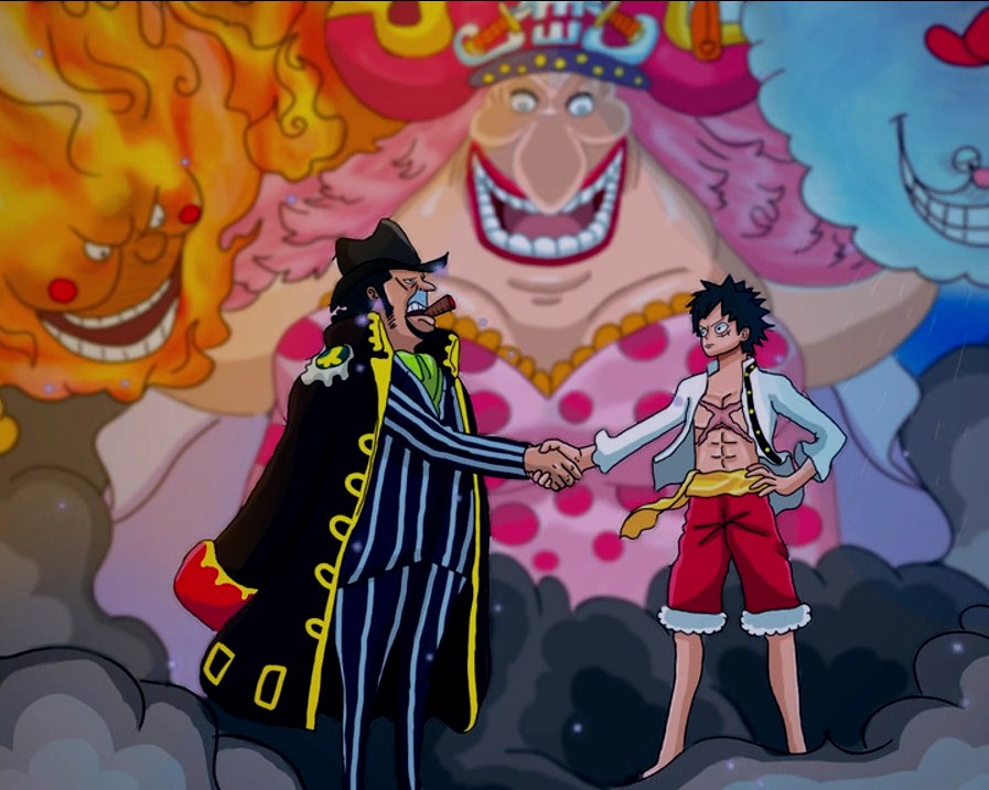 One Piece Chapter 858