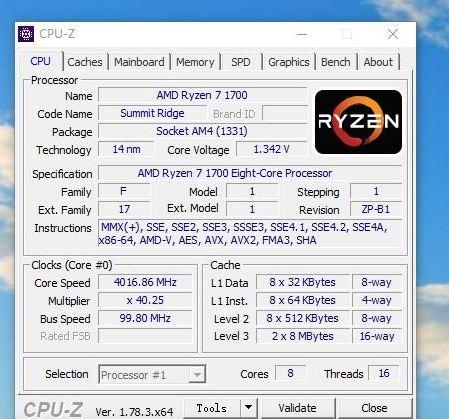 ryzen 7 1700 benchmarks