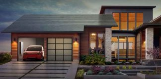 tesla solar roofs will be available for order from april
