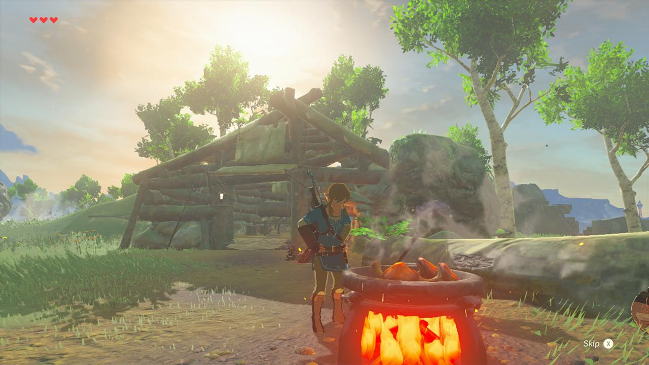 Zelda: Breath of the Wild cooking