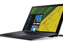Acer Switch 5 specs