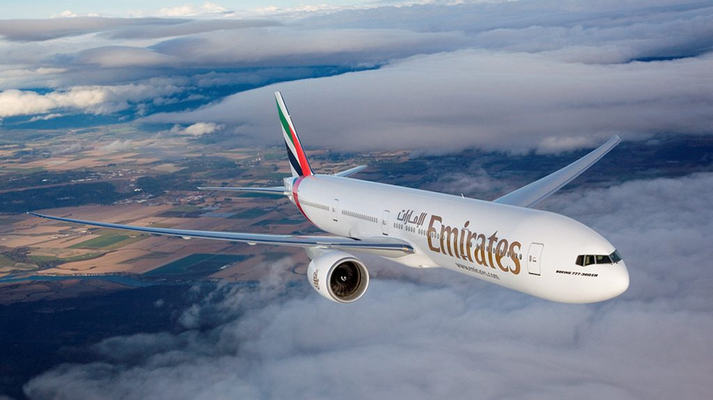 Emirates Airlines issuing Surface tablets to passengers
