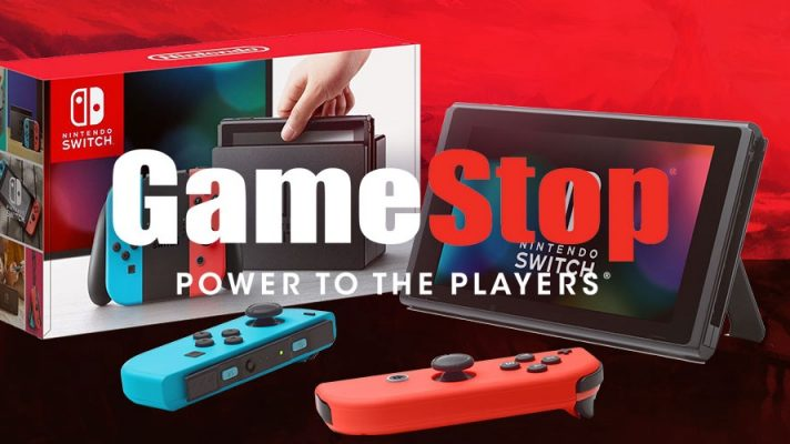 Nintendo Switch back in stock at GameStop
