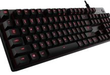 Logitech G413 mechanical switch keyboard