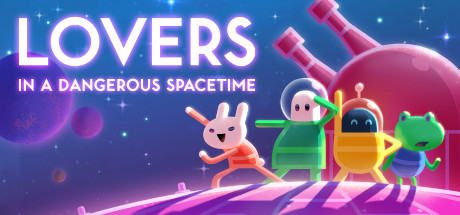 Lovers In A Dangerous Spacetime (credits Steam)