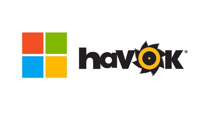 Microsoft trademarks Havoc's Direct Physics