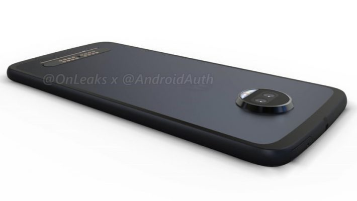 Onleaks leaked Moto Z2 Force renders