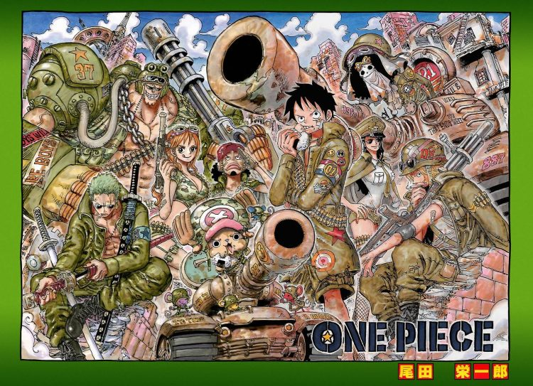 One Piece Chapter 862