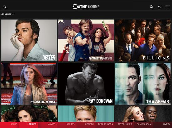 Showtime iOS app enables downloads for offline viewing