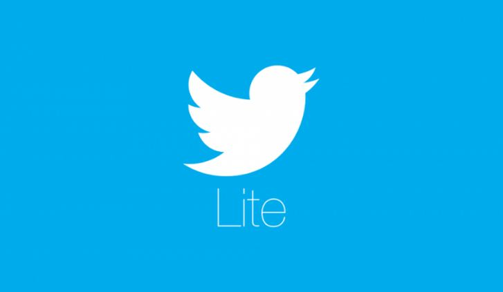 Twitter Lite features