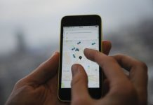 Uber-in-app tipping