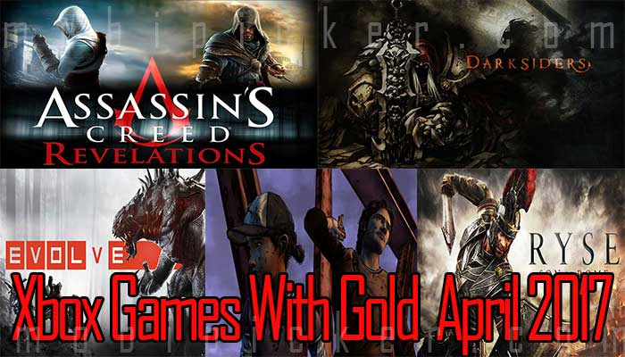 xbox games with gold april 2017