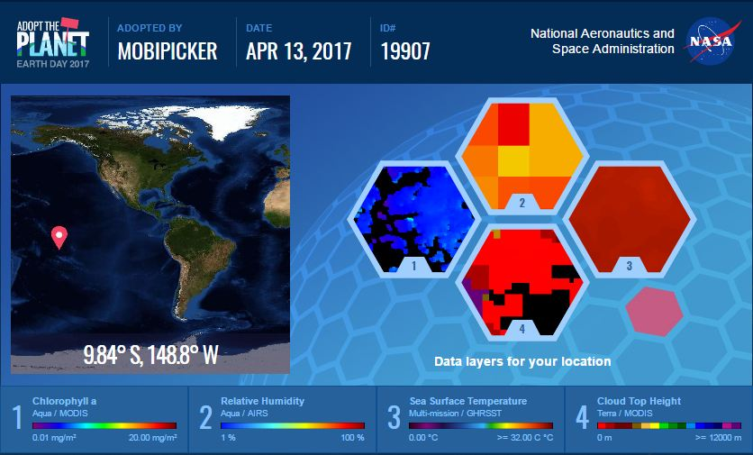 earth day 2017 - nasa wants you to adopt a piece of earth