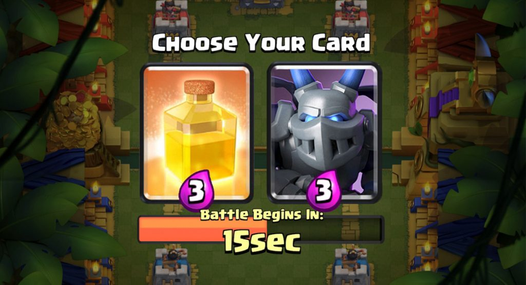 Clash Royale Heal Card Draft Challenge Live