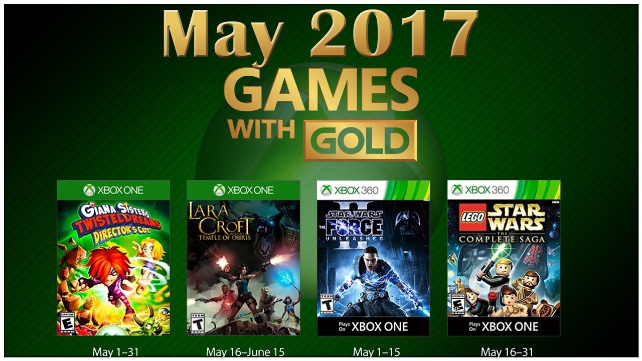 Xbox 360 Games With Gold : Xbox games with gold may here s what you get free
