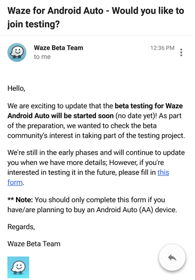 Android Auto Waze Support to Start Soon? Waze Community Receives