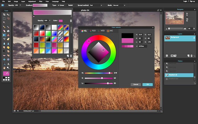 how to use photoshop online without download