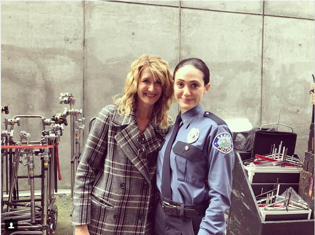 'Shameless' Season 8 Star Emmy Rossum Shares On Set Photo
