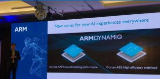 ARM Cortex A55 Cortex A75 unveiled