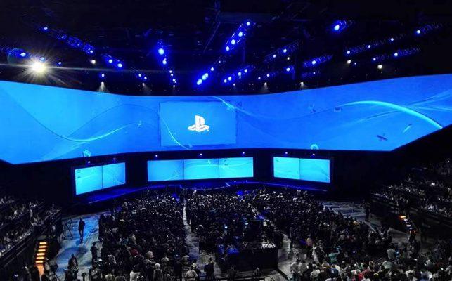 Sony announced E3 event schedule