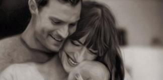 Jamie Dornan and Dakota Johnson