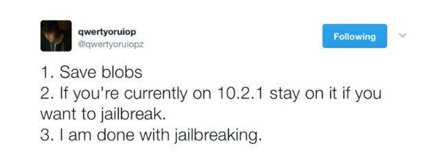 Luca Todesco Quits Jailbreaking
