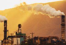 Carbon dioxide emission