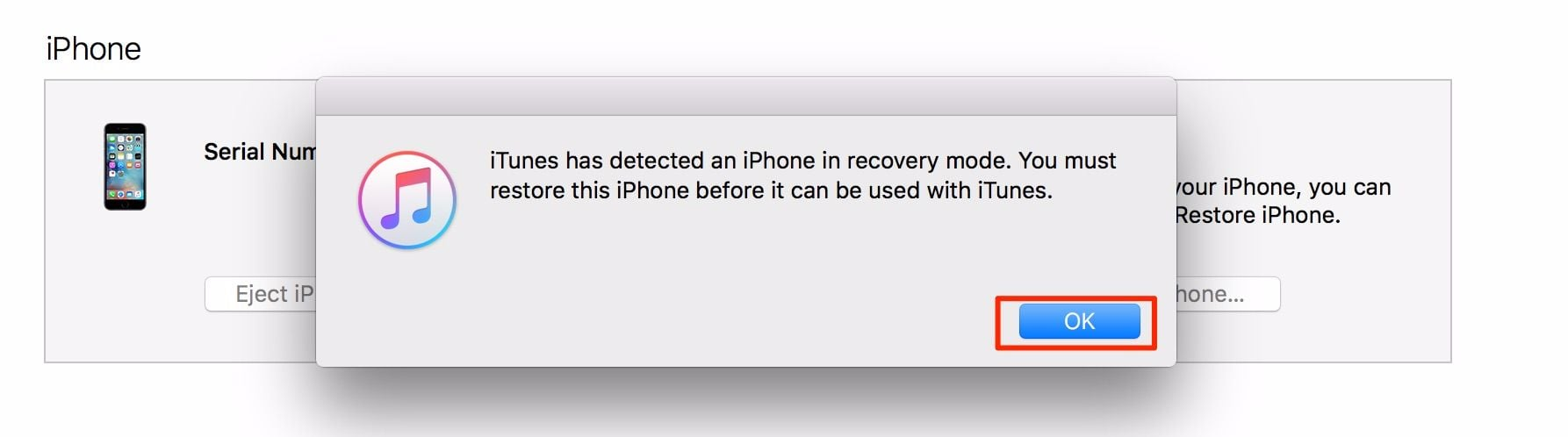 how to fix iphone is disabled connect to itunes